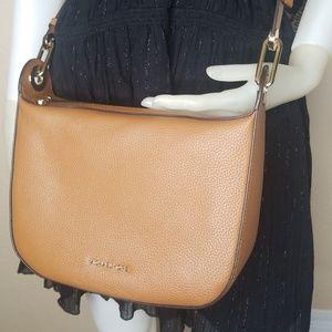 593197fa3a6b Michael Kors Bags - MICHAEL KORS Barlow Medium Leather Crossbody Acorn